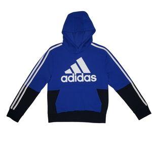 NWOT Adidas Boys Pullover Colorblock Hoodie